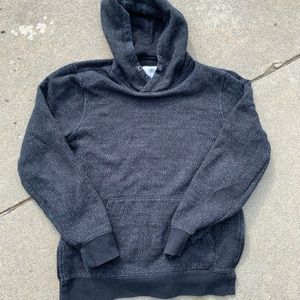 On the Byas Charcoal Hoodie Mens Small